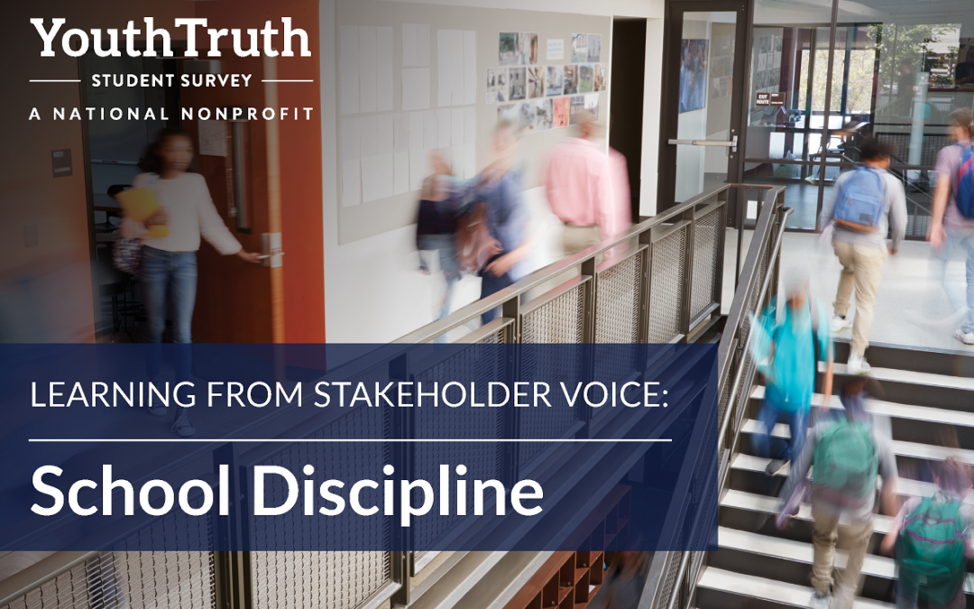 Learning from Stakeholder Voice: School Discipline